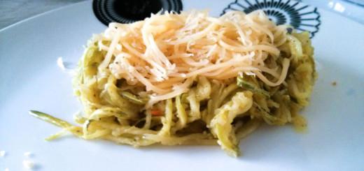 Receita de macarrão de abobrinha - para dietas low carb